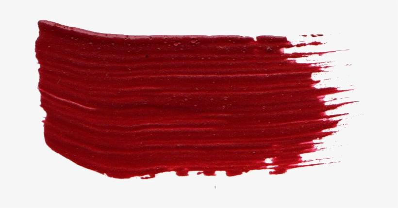 Free Download - Red Brush Stroke Png, transparent png #155674