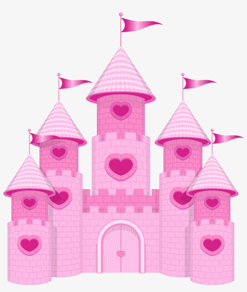 Princess Castle Png - Topo De Bolo Ursinha Princesa, transparent png #155786