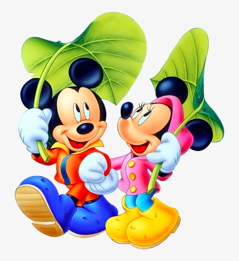 Mickey Mouse Png Transparent Image - Mickey And Minnie Mouse Logo Png, transparent png #155870