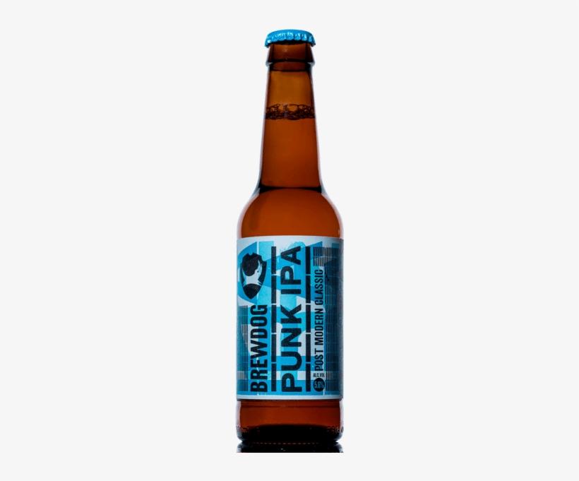 Brewdog Punk Ipa Bottle - Brewdog Craft Beer - Punk Ipa, transparent png #156034