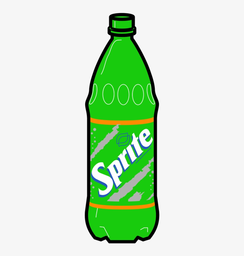 Soft Drinks Drawing At Getdrawings Sprite Bottle Drawing Free Transparent Png Download Pngkey