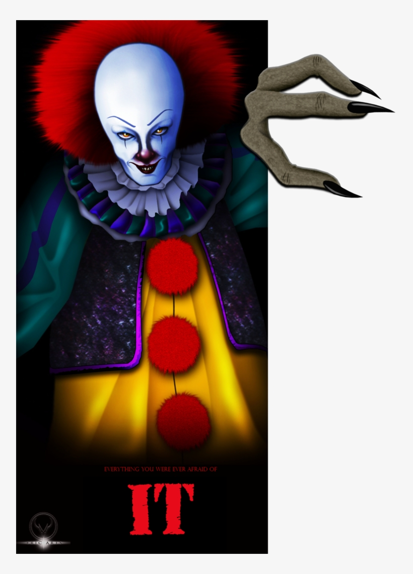 Picture Library Library Curry Drawing Pennywise - Pennywise The Dancing Clown Png, transparent png #156077