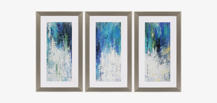 Surface Pk/3 - 3-piece Surface Framed Painting Print Set, transparent png #156372