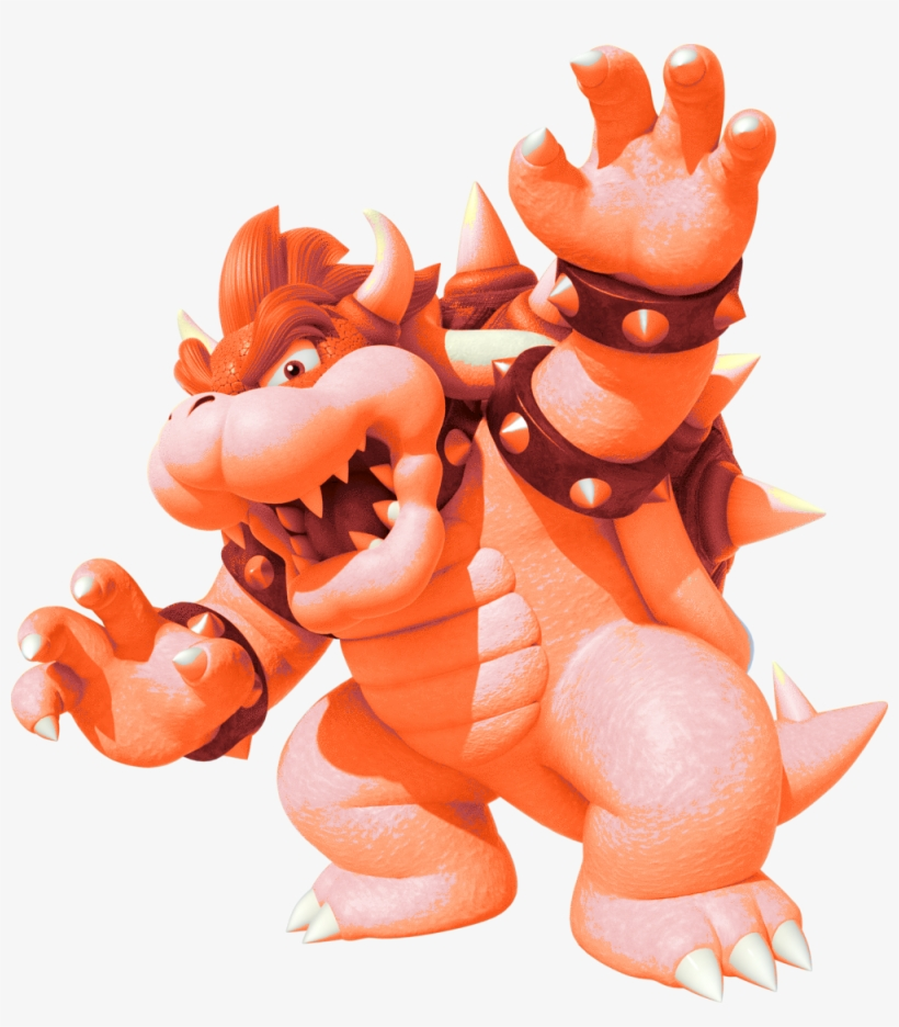 Fire Bowser - Mario Party 10 Wii U Game (selects), transparent png #157055