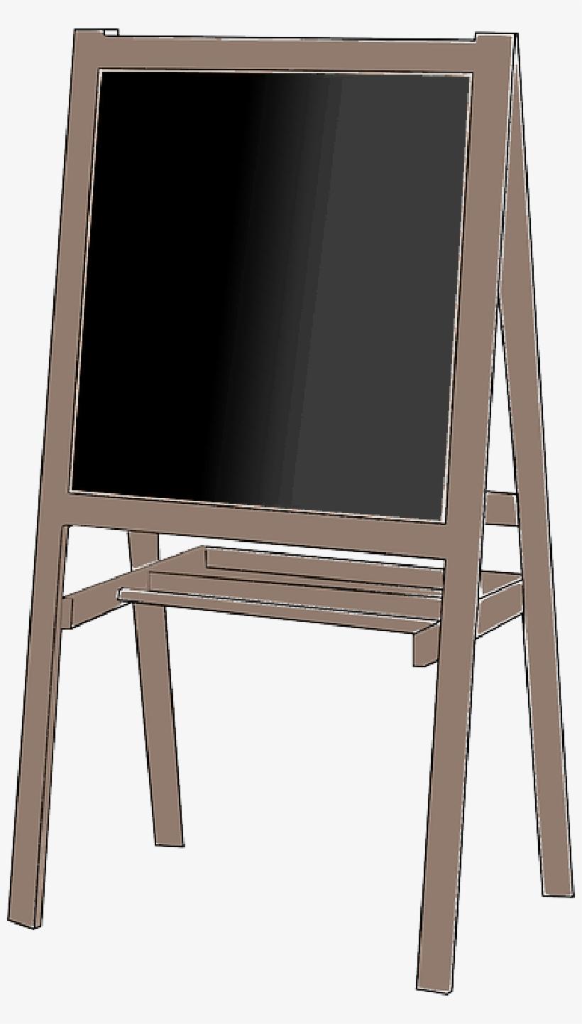 Mb Image/png - Chalkboard On Easel Png, transparent png #157383