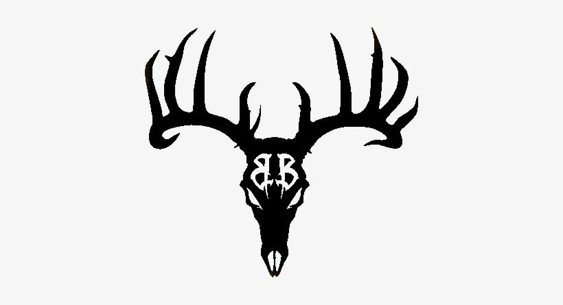 Deer tribal. Peach clipart skull tattoo