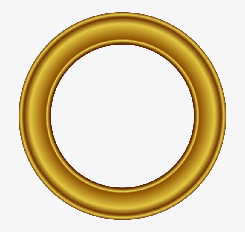 857cff43e298 Golden Round Frame Png Free Download - Golden Round Frame Png - Free ...