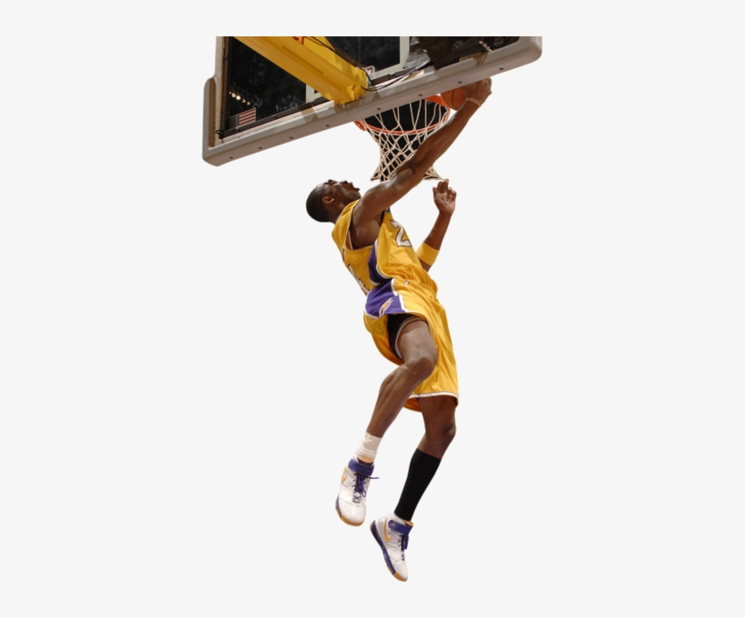 Share This Image - Kobe Bryant Dunking Transparent, transparent png #157827