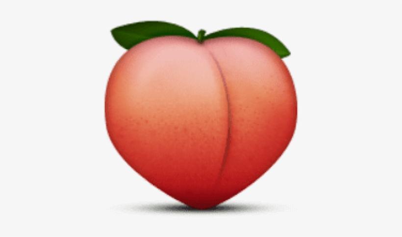 Free Png Ios Emoji Peach Png Images Transparent - Peach