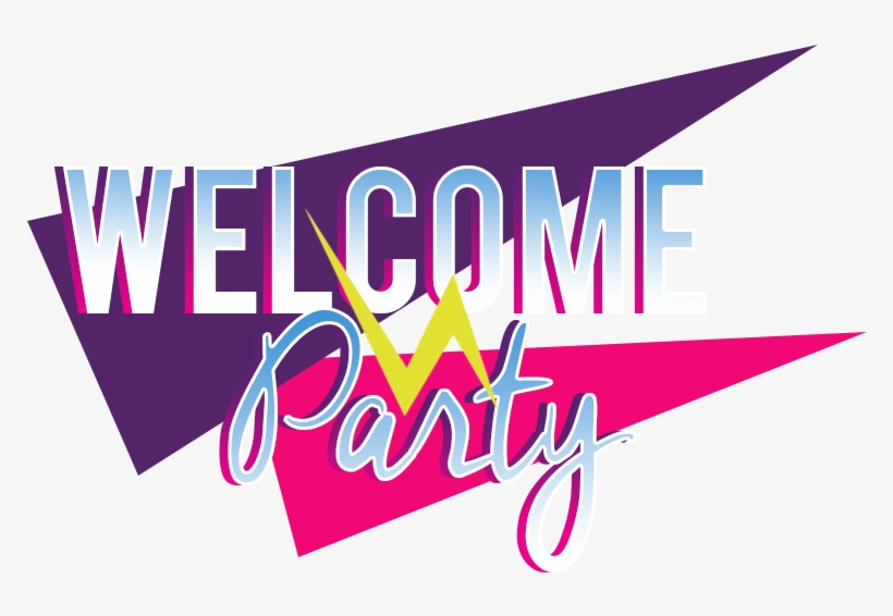 Welcome Party Logo - Welcome Party Png, transparent png #158460