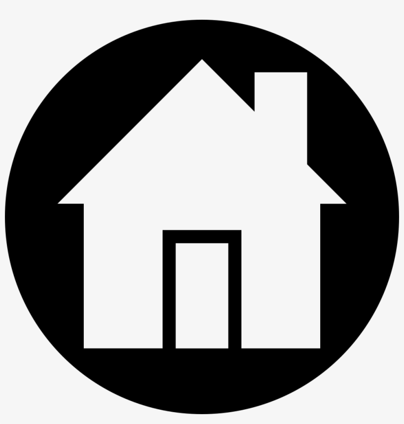 Home Icon Png White Graphic Transparent Download Home Icon In A