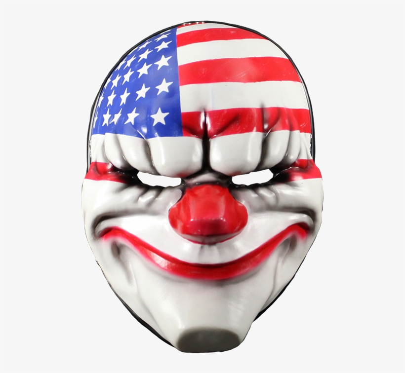 Payday 2 Mask Dallas - Payday 2 Dallas Face Mask - Free Transparent