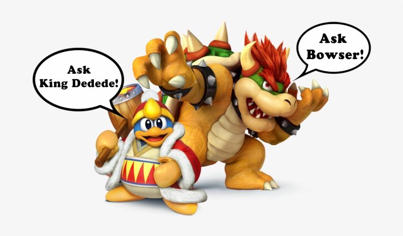 Super Smash Bros - Super Smash Bros For Wii U Bowser, transparent png #1501498