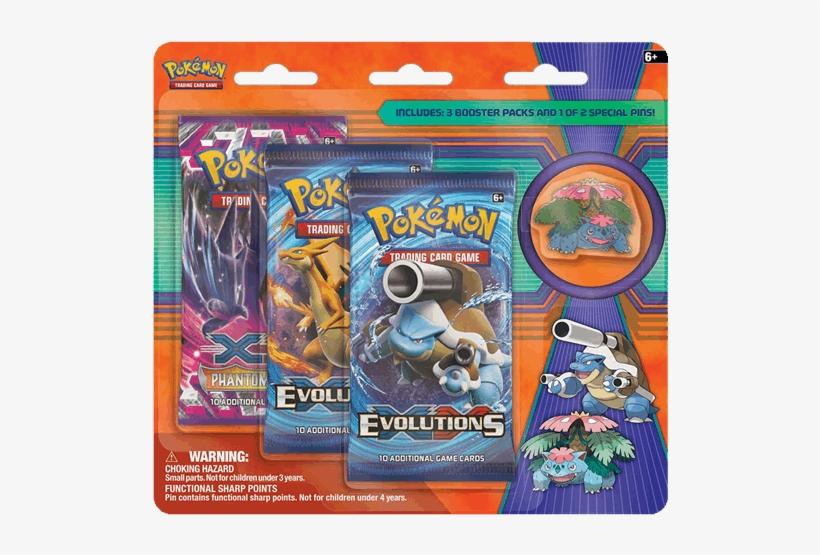 Pokemon Trading Card Game - Pokemon Evolutions Blister Pack, transparent png #1501747