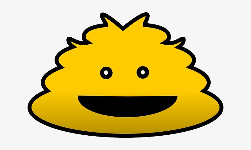 Monster, Sesame Street, Yellow, Funny, Face, Fluffy - Monster Lucu Png, transparent png #1502183