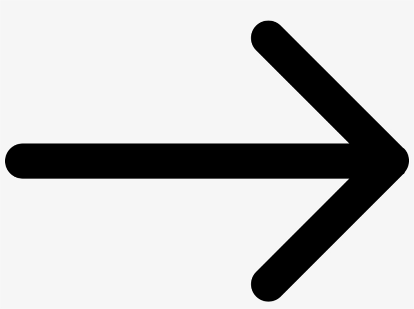 Right Arrow Of Straight Lines Comments - Symbol Arrow Pointing Right, transparent png #1502904