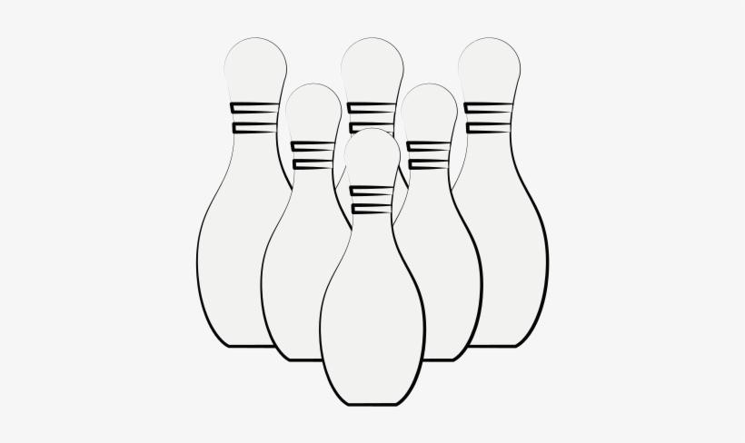 Bowling Ball And Pins - Bowling Ball, transparent png #1503006