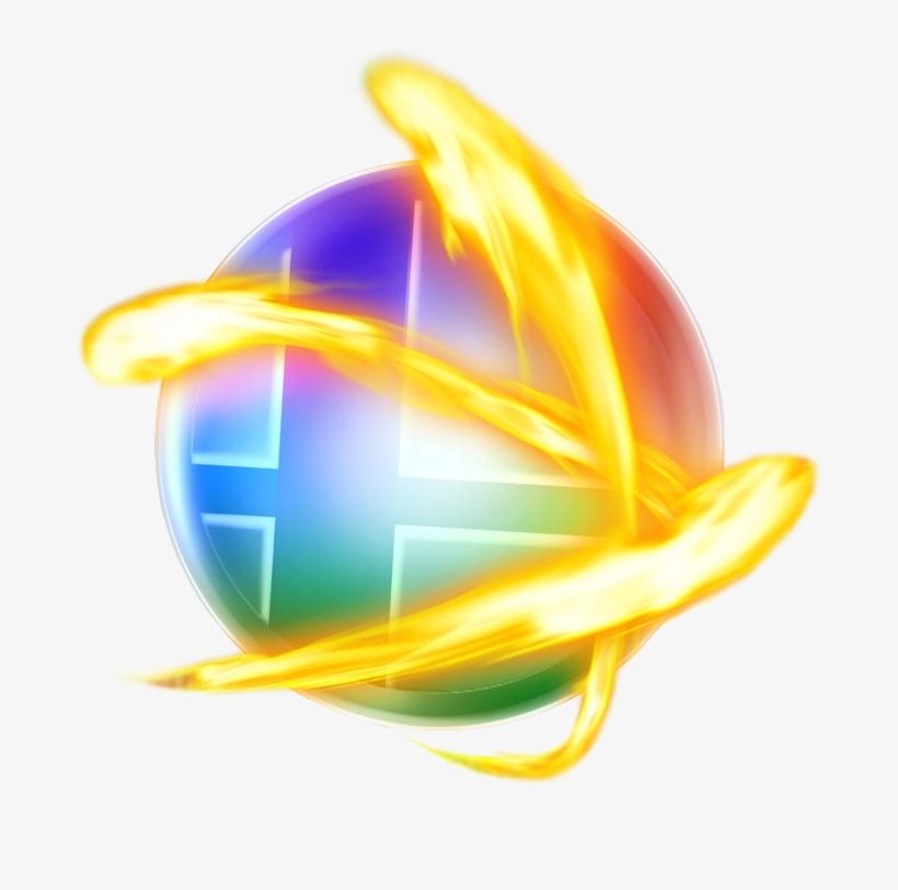 8134 Super Smash Bros For Nintendo 3ds Wii U - Super Smash Bros Wii Logo, transparent png #1504139