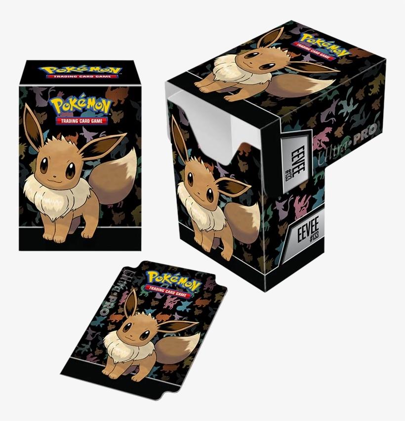 Pokemon - Pokemon Deck Box Eevee, transparent png #1506021