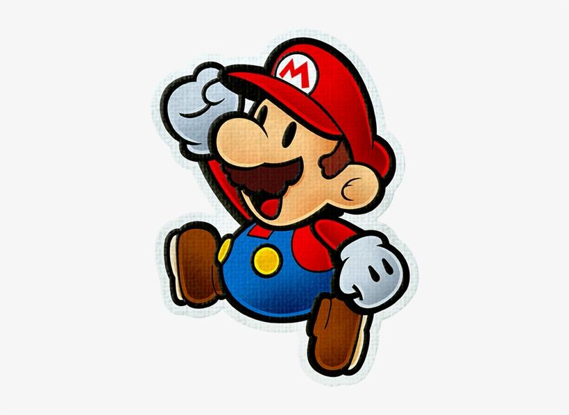 Pm Color Splash - Paper Mario Color Splash Mario And Huey, transparent png #1506427