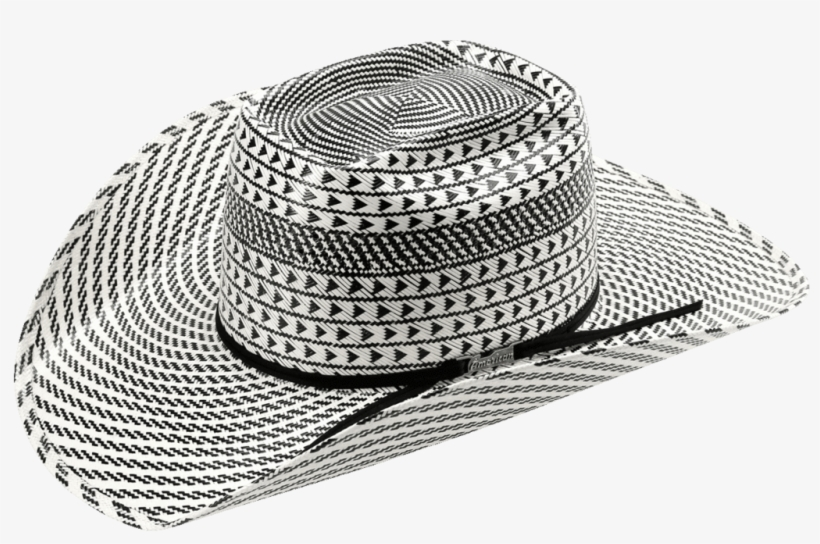 American Hat Co 6110 Fancy Weave And Vent Straw Hat - American Hat Co Hat Black, transparent png #1506542
