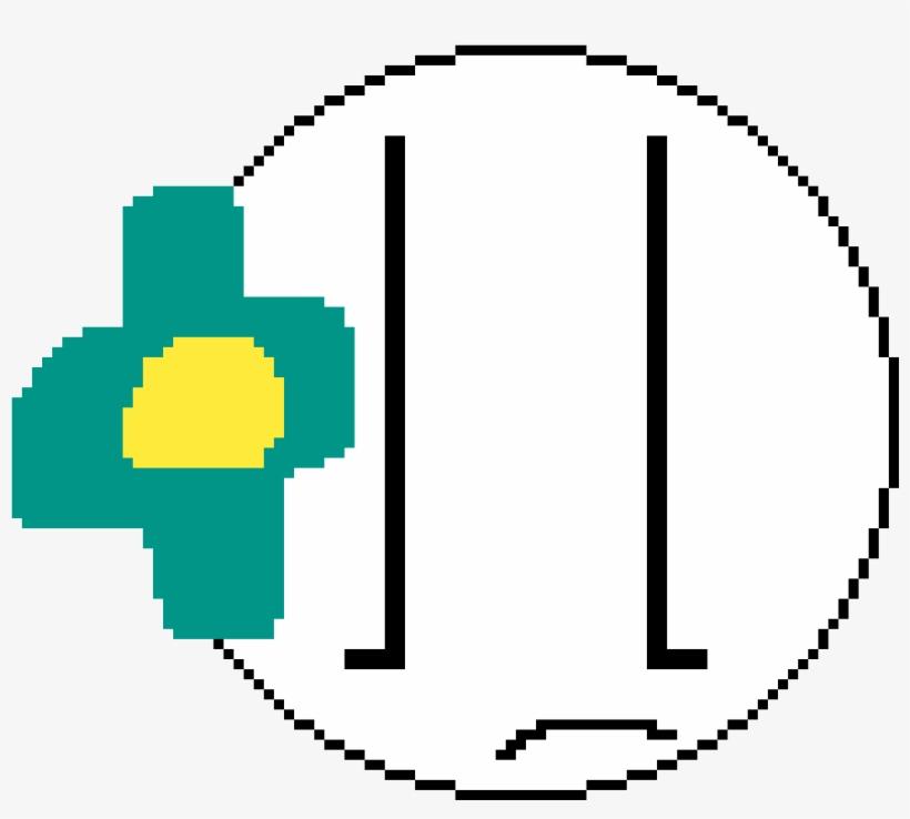 Frown Emote - Nazi Flag Pixel Art, transparent png #1508318