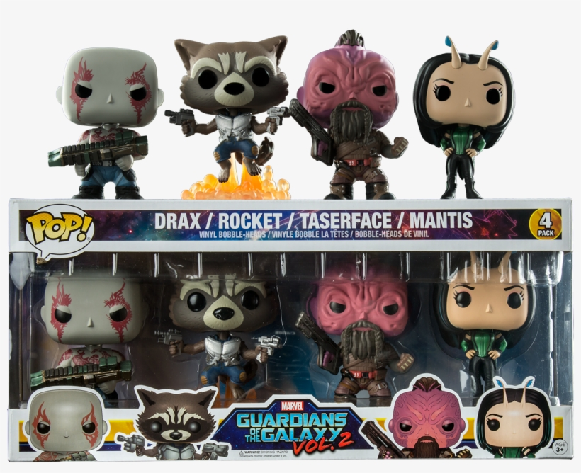 Guardians Of The Galaxy - Funko Pop 2 Pack, transparent png #1508374