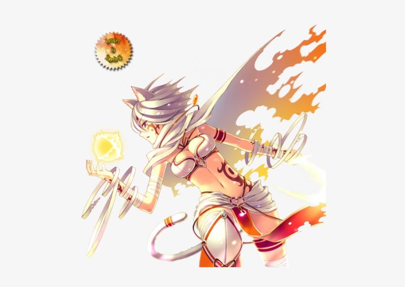 Sayori - Sexy Anime Magic Girl, transparent png #1509963