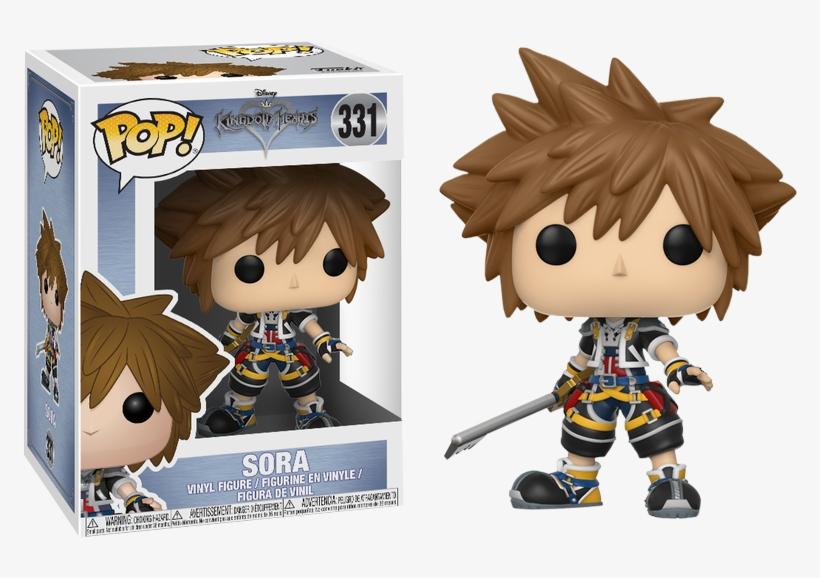 Sora Funko Pop Vinyl Figure - Funko Pop Sora Kingdom Hearts, transparent png #1511179