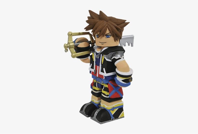 "Sora Vinimate 4"" Vinyl Figure - Kingdom Hearts Vinimates, transparent png #1511246"