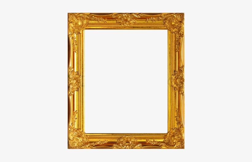 Golden Frame Free Png Image - Classical Art Frames, transparent png #1511356