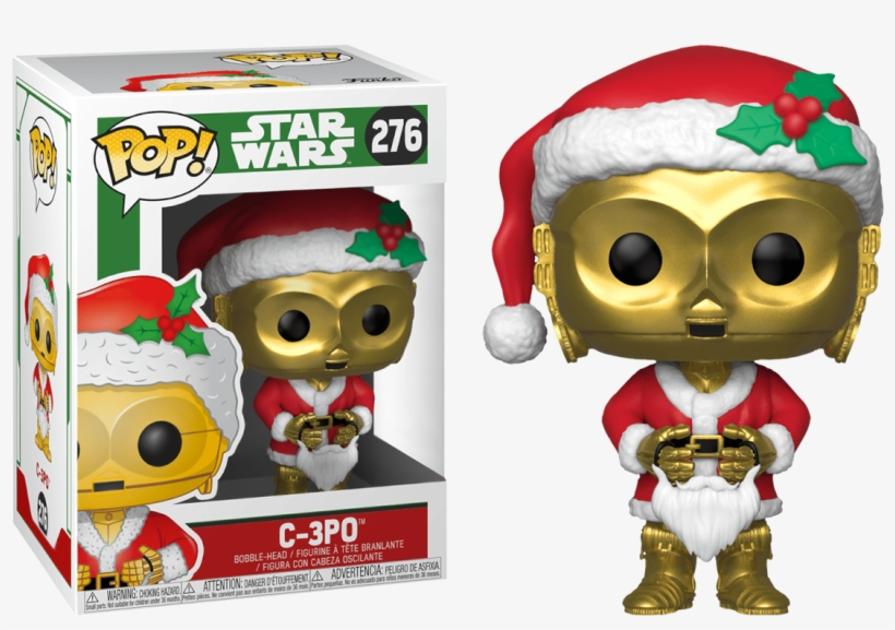 Star Wars Holiday - Star Wars Pop Funko Holiday, transparent png #1511716