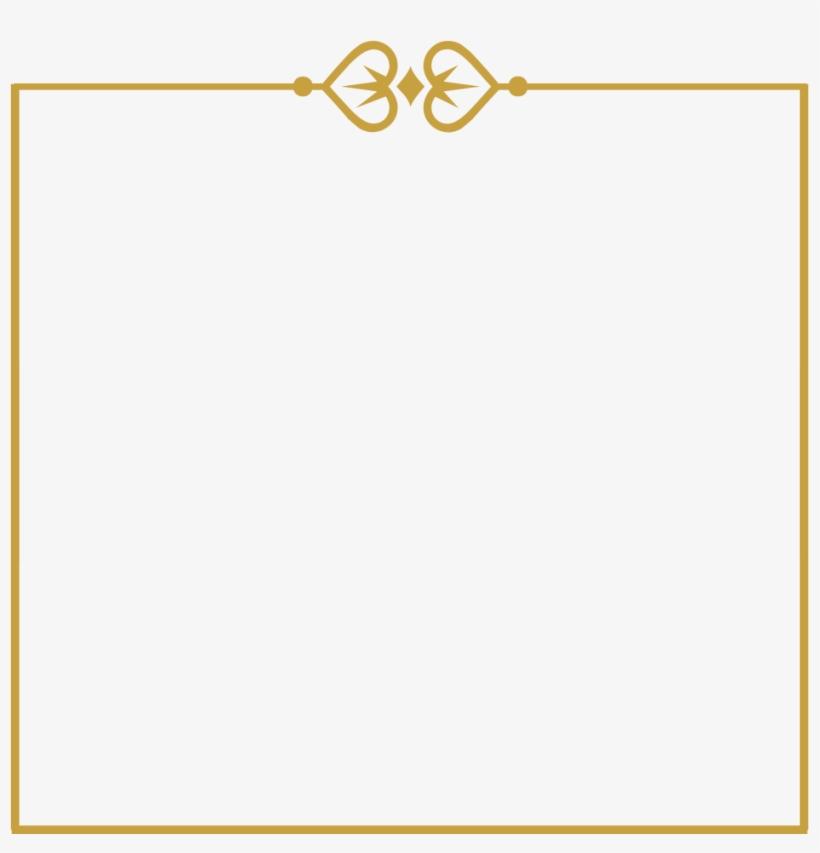 Gold Wedding Frames Png Parallel Free Transparent Png Download Pngkey