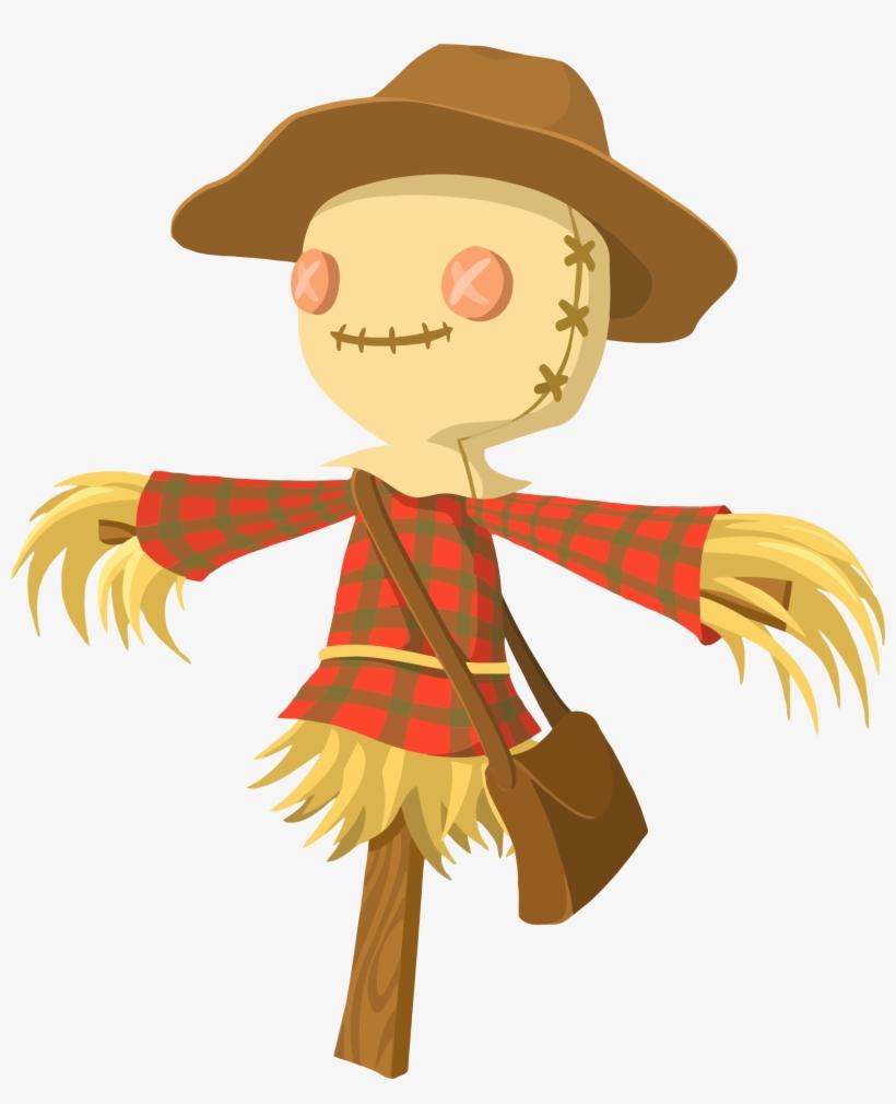 Scarecrow Clipart Transparent - Scarecrow Clipart, transparent png #1512272