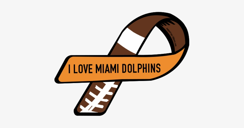 I Love Miami Dolphins - Support Type 1 Diabetes, transparent png #1512673
