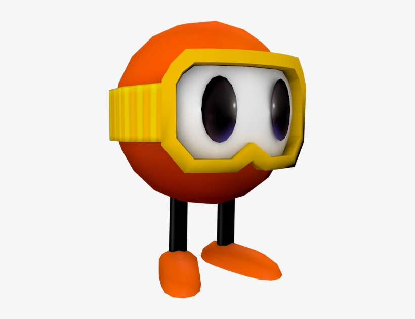 Download Zip Archive - Pac Man World Rally Pooka, transparent png #1513203