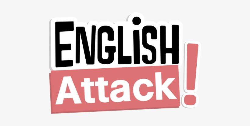 English Attack Logo - English Language, transparent png #1513857
