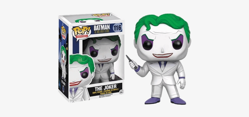 The Dark Knight Rises - Funko Pop Joker Dark Knight Returns, transparent png #1514395