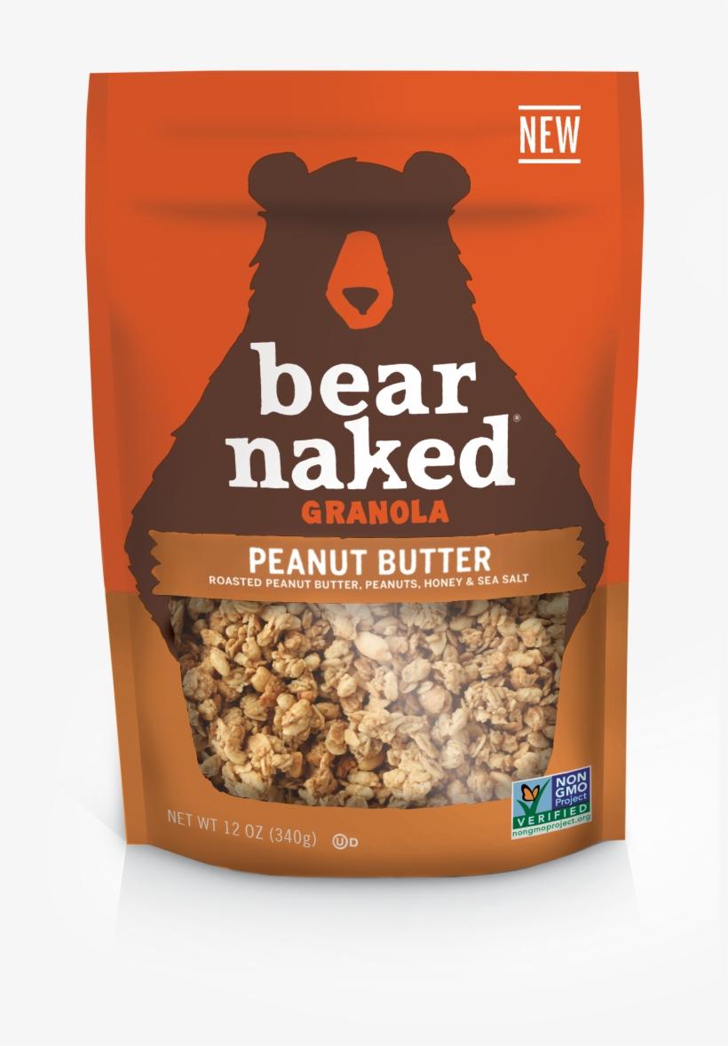 Peanut Butter - Bear Naked Granola Fruit And Nut, transparent png #1514719