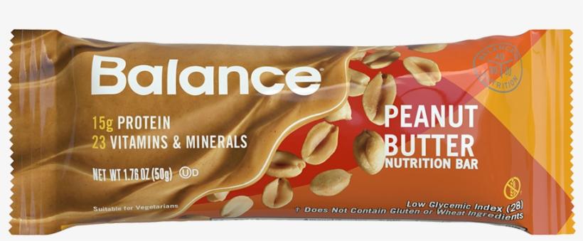 Peanut Butter Balance Bar® - Balance Bar Peanut Butter, transparent png #1514761