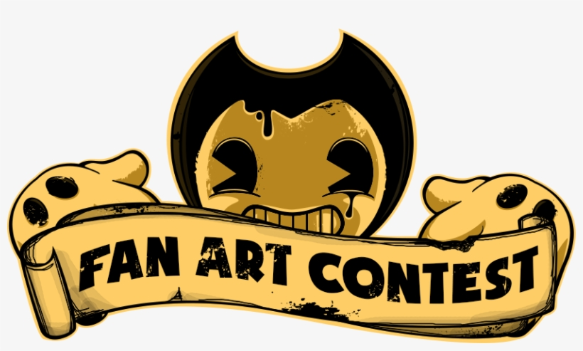 Bendyfanartbanner01 - Bendy And The Ink Machine Fan Art Contest, transparent png #1515360
