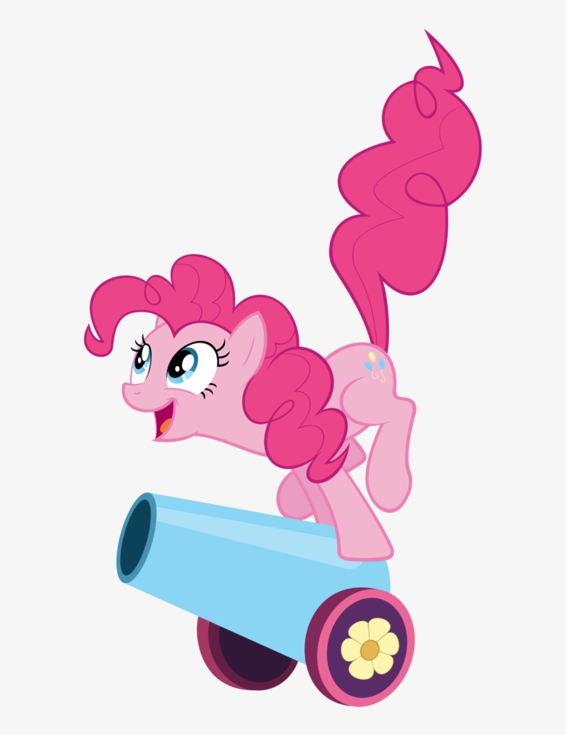 Absurd Res, - Pinkie Pie With Party Cannon, transparent png #1516216