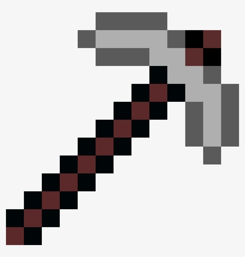Minecraft Pixel Art Maker Pixel Art Pickaxe Free