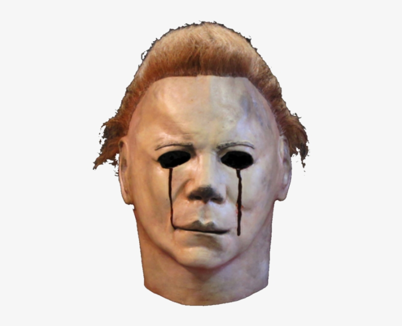 Halloween Ii Blood And Tears Myers Mask - All Halloween Movie Masks, transparent png #1517553