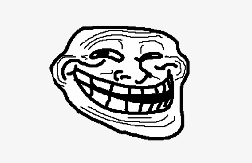 Me Gusta Face Png - Troll Face, transparent png #1517594