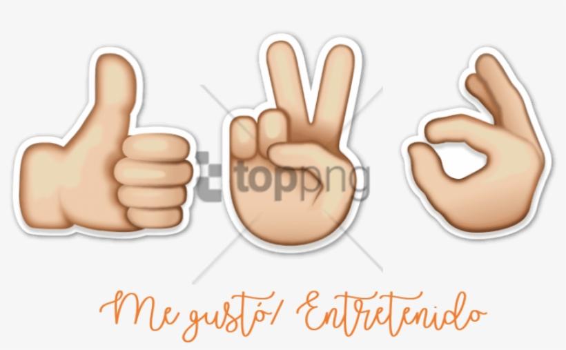 Las Ilustraciones Son De Caanan White Y Su Estilo No - Emoji De Una Mano, transparent png #1518252