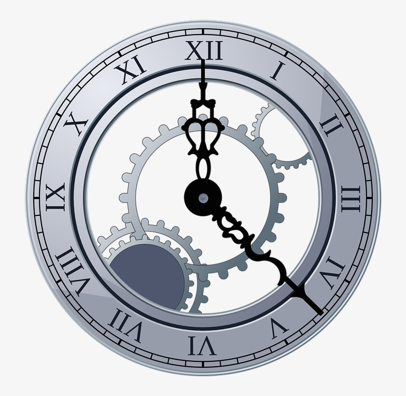 Death Clock Guessing Your Age Of Death - Clock With Gears