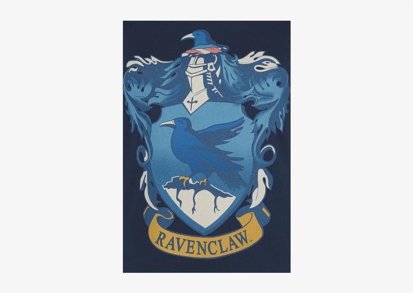 Ravenclaw Crest Camiseta Azul Oscuro Liso 100% Algodón - Ata-boy Harry Potter Die-cut Ravenclaw Crest Magnet, transparent png #1522196