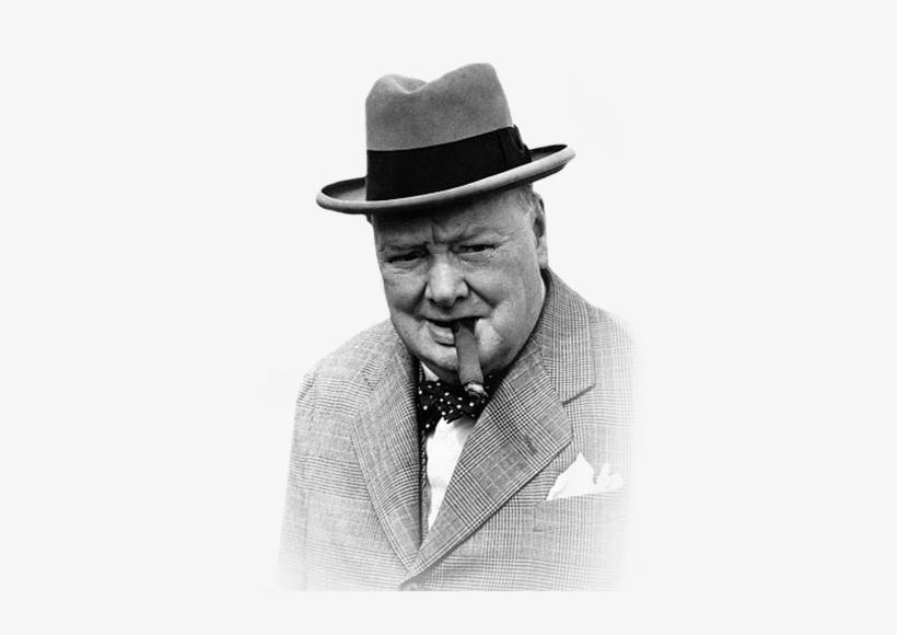 Winston Churchill Smoking Cigar - Winston Churchill No Background, transparent png #1523063