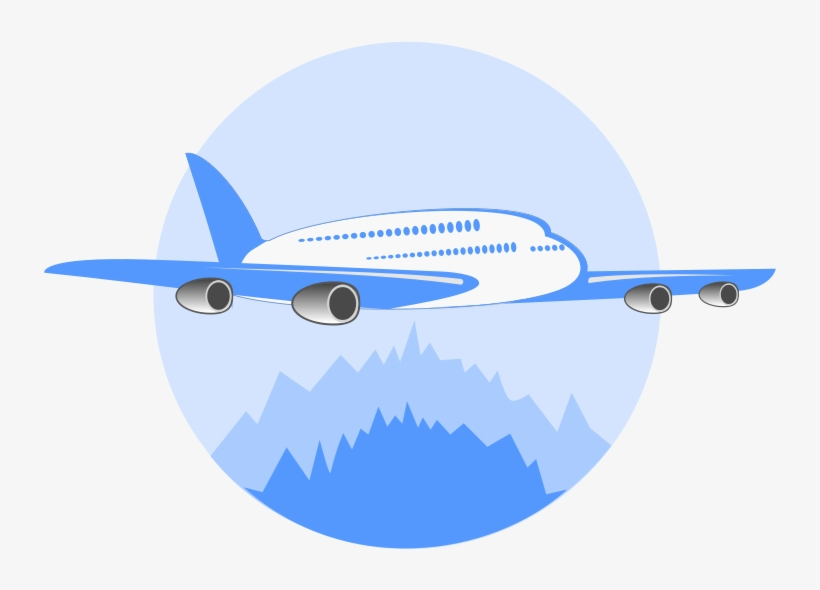 Airplane logo. Clipart flight free transparent